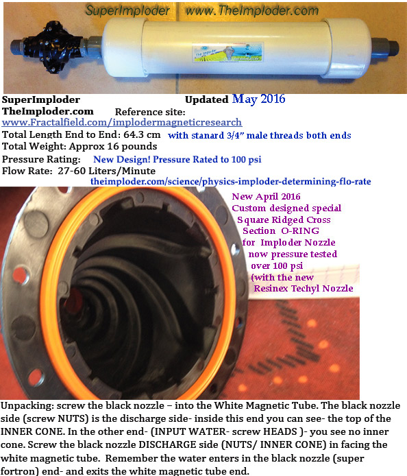 Superimploder Upgrades 2016 New Nozzle Amp Oring Higher