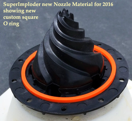 The superimploder technology now includes a new oring.