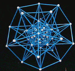 The physics of implosion creates a dodecahedral structure of water molecules.